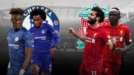 Setiap lini akan saling berusaha menampilkan permainan terbaik dalam laga Chelsea vs Liverpool di Liga Inggris 2019-2020. - INDOSPORT