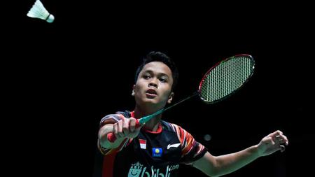 Anthony Sinisuka Ginting di ajang China Open 2019. - INDOSPORT