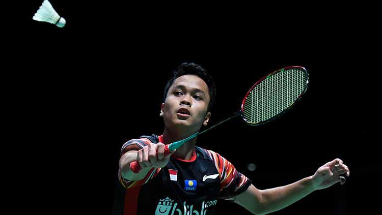 Anthony Sinisuka Ginting di ajang China Open 2019. Copyright: Matt Roberts/Getty Images