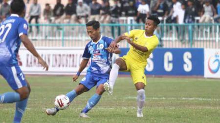 PSCS Cilacap versus Perserang di Stadion Wijayakusuma, Minggu (22/09/19). - INDOSPORT