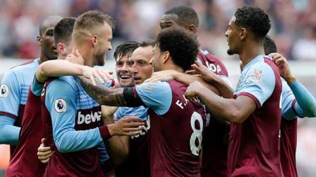 Usai mempermalukan Manchester United pada pekan keenam Liga Inggris 2019/20, West Ham United secara mengejutkan kalah dari Oxford United dengan skor 0-4. - INDOSPORT