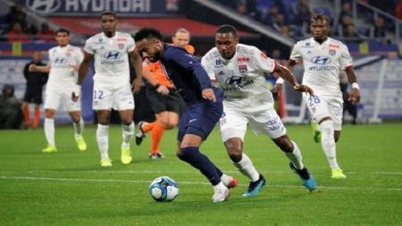 Neymar lagi-lagi menjadi penentu kemenangan Paris Saint-Germain saat bertandang ke markas Bordeaux dalam lanjutan Ligue 1 Prancis - INDOSPORT