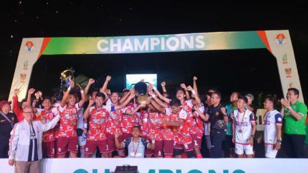 Tim UPI Bandung memastikan diri tampil sebagai juara di ajang Liga Mahasiswa bentukan Deputi Pembudayaan Olahraga Kemenpora. - INDOSPORT