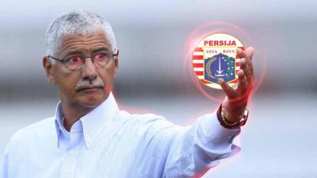 Araujo Tavares Edson kandidat pelatih Persija Jakarta. - INDOSPORT