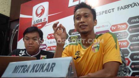 Kapten tim Mitra Kukar, Arif Suyono - INDOSPORT