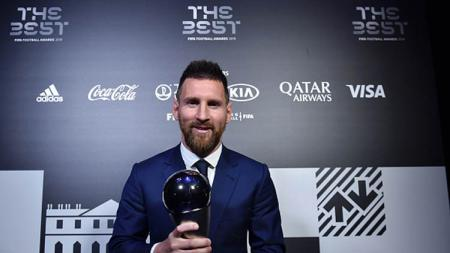 Lionel Messi, The Best Player FIFA 2019 - INDOSPORT