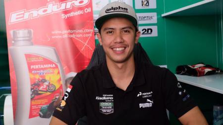 Pembalap muda Indonesia, Ali Adriansyah Rusmiputro meningkatkan intensitas latihan fisik demi menghadapi balapan final Asia Road Racing Championship (ARRC) 2019 - INDOSPORT
