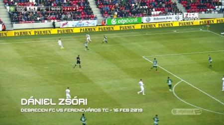 Momen saat Daniel Zsori mencetak gol - INDOSPORT