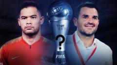Indosport - Andritany Ardhiyasa dan Simon McMenemy The Best FIFA Football Awards