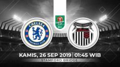 Indosport - Berikut prediksi pertandingan Piala Liga Inggris antara Chelsea vs Grimsby Town, Kamis (26/09/19) di Satmford Bridge