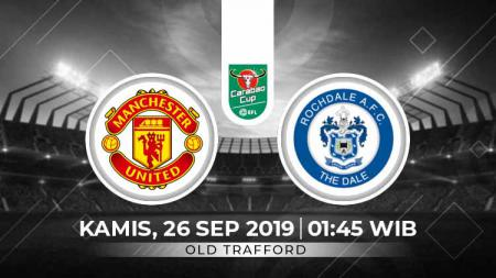 Babak ketiga Piala EFL antara Rochdale melawan Manchester United, Kamis (26/9/19), bisa menjadi bukti apakah ketajaman The Red Devils selemah yang diperkirakan. - INDOSPORT