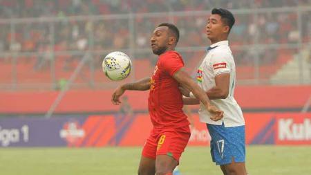 Situasi pertandingan Kalteng Putra vs PSIS Semarang. - INDOSPORT