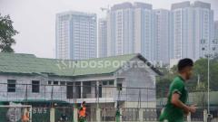 Indosport - Skuat PSMS Medan berlatih di komplek Stadion Kebun Bunga, Medan, Selasa (24/9/2019) sore.