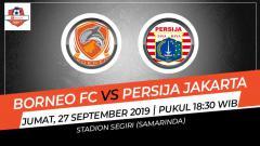 Indosport - Pertandingan Borneo FC vs Persija Jakarta dalam Shopee Liga 1 2019 bisa disaksikan melalui streaming.