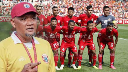Sudirman ditunjuk sebagai pelatih kepala Persija Jakarta. - INDOSPORT