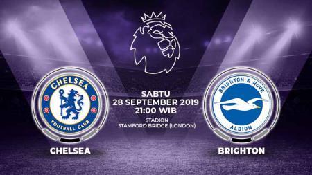 Pertandingan Chelsea vs Brighton & Hove Albion. - INDOSPORT