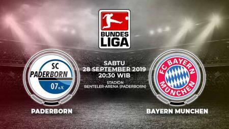 Berikut pertandingan Paderborn vs Bayern Munchen pekan keenam Bundesliga Jerman 2019-2020, Sabtu (28/09/19) pukul 20.30 WIB - INDOSPORT