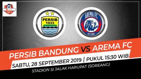 Pertandingan Persib bandung vs Arema FC. - INDOSPORT