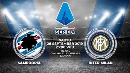 Pertandingan Sampdoria vs Inter Milan. - INDOSPORT