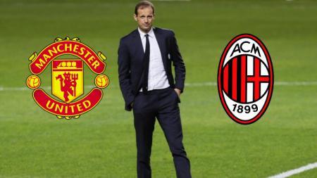 Massimiliano Allegri pilih AC Milan atau Manchester United - INDOSPORT