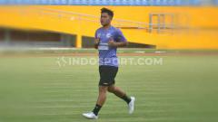Indosport - Yericho Christiantoko, wing bek Sriwijaya FC berpotensi terkena akumulasi kartu kuning.