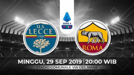 Prediksi Lecce vs AS Roma di Serie A pekan ke-6. - INDOSPORT