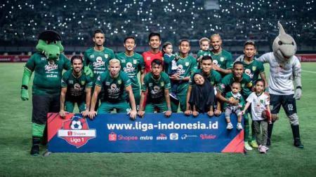 Wajah skuat tim Persebaya Surabaya terlihat semakin sempurna pada putaran kedua Shopee Liga 1 2019 ketimbang musim lalu. - INDOSPORT
