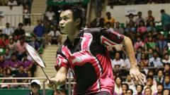 Indosport - Candra Wijaya, salah satu anggota tim bulutangkis Indonesia yang sukses sapu bersih gelar di Indonesia Open 2001.