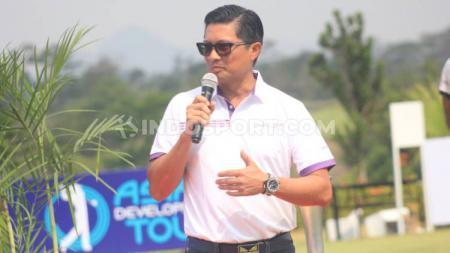 Presiden Direktur Combiphar, Michael Wanandi saat acara Combiphar Player Championship 2019  di Lapangan Parahyangan Golf, Kabupaten Bandung Barat, Jumat (27/9/19). - INDOSPORT