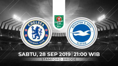 Laga Chelsea vs Brighton & Hove Albion Football Club akan dimulai pukual 21:00 WIB. - INDOSPORT