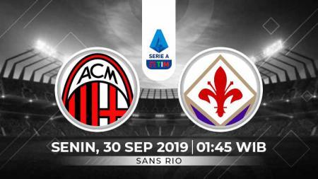 Prediksi AC Milan vs Fiorentina - INDOSPORT