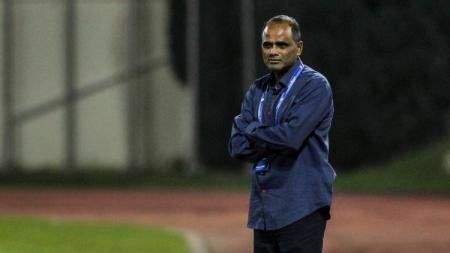 Pelatih Timnas Malaysia U-16, Maniam Pachaiappan. - INDOSPORT