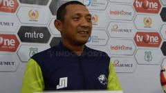 Indosport - Pelatih Babel United, I Putu Gede