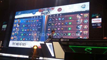Kompetisi eSports Mobile Legends Profesional League (MPL) 2020 telah memasuki hari ketiga. Ada pertandingan antara RRQ lawan Alter Ego, dan duel EVOS vs ONIC. - INDOSPORT