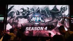 Indosport - Berikut jadwal MPL Season 4 2019 di mana dua tim besar game eSports Mobile Legends, EVOS dan RRQ, akan saling bersaing meraih kemenangan.