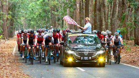 Balapan Tour de Banyuwangi Ijen 2019 yang diselenggarakan di Banyuwangi dianggap bakal memiliki standar terbaik di dunia. - INDOSPORT