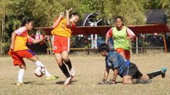 Indosport - Seleksi PSM Makassar Putri di Lapangan Telkom, Makassar, 22-25 September 2019.