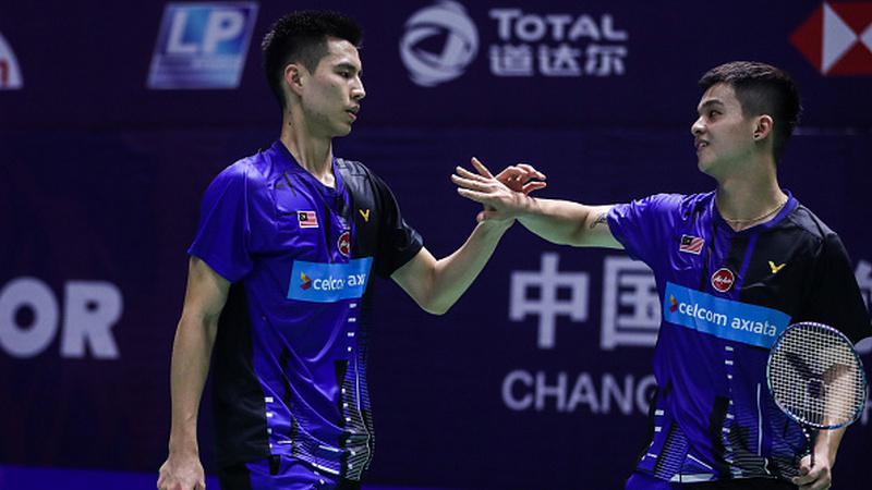 Berpeluang Hadapi Kevin/Marcus di Asia Open, Wakil Malaysia Lakukan Ini