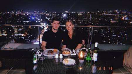 Jorien Neervoort bersama kekasihnya, Nick Kuipers - INDOSPORT