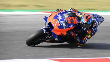 Jelang MotoGP 2020, tim KTM akan mempresentasikan tim dan motornya pada bulan Februari mendatang. - INDOSPORT