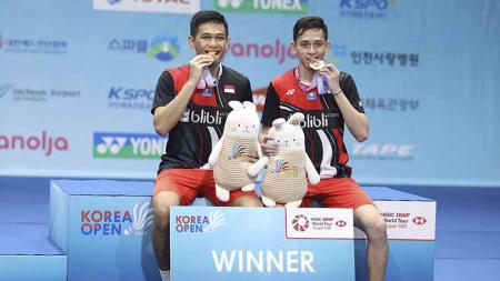 Update BWF rangking saat diselenggarakannya Denmark Open 2019. Wakil Indonesia berkesempatan naik kasta. - INDOSPORT