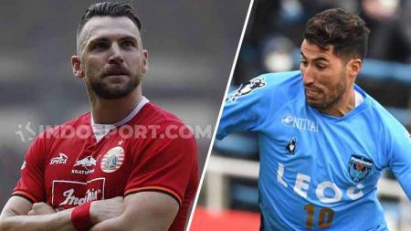Marko Simic vs Ibba Laajab, siapa yang Persija dan Jakmania pilih untuk Liga 1 2020 mendatang? - INDOSPORT