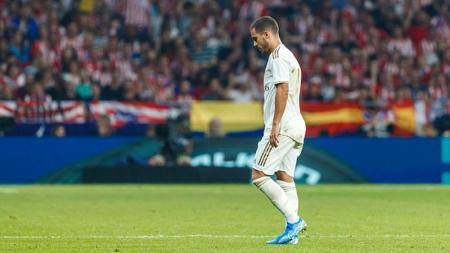 Eden Hazard mendapat sorotan tajam dari media spanyol karena gagal memenuhi ekspektasi dalam tujuh awal LaLiga - INDOSPORT