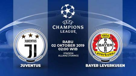 Pertandingan Juventus vs Bayer Leverkusen. - INDOSPORT
