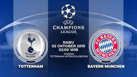 Bayern Munchen dapat kabar baik jelang pertandingan penyisihan grup Liga Champions 2019-2020 menawan Tottenham Hotspur. - INDOSPORT