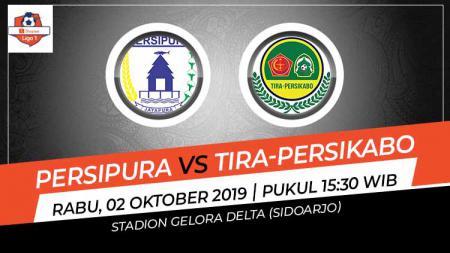 Pertandingan Persipura Jayapura vs Tira-Persikabo. - INDOSPORT