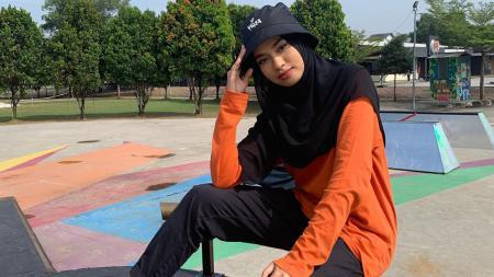 Qhouirunnisa, hijaber cantik Malaysia yang juga freestyler - INDOSPORT