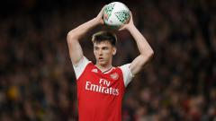 Indosport - Arsenal Kesal, Kieran Tierney Harus Isolasi dan Absen Lawan Man City