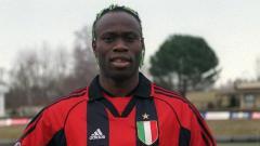 Indosport - Taribo West, mantan pemain AC Milan asal Nigeria