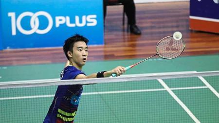 Pebulutangkis muda Malaysia yang jadi titisal Lin Dan, Ong Zhen Yi - INDOSPORT
